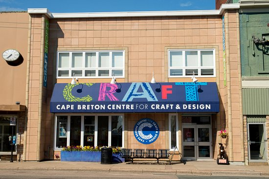 Sydney, Canada: Street view of Cape Breton Centre for Craft & Design