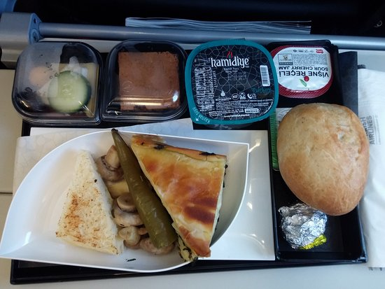 Turkish Airlines: Almost full.