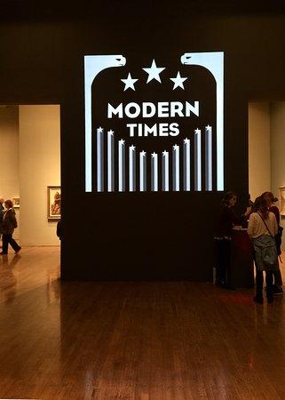 Philadelphia Museum of Art: Title of exhibit: Modern Times
