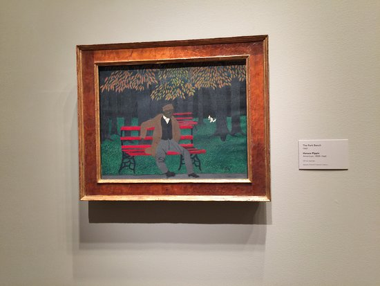 Philadelphia Museum of Art: Horace Pippin, The Park Bench, 1946