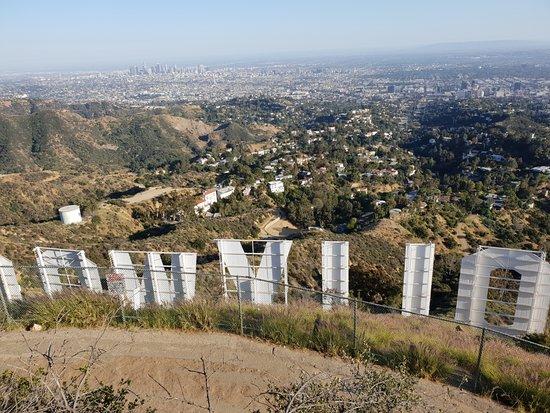 Aussicht vom Mt Lee hinter dem Hollywood Sign