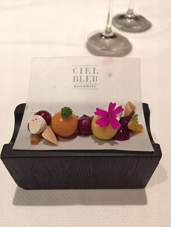 Ciel Bleu Restaurant: Ciel Bleu