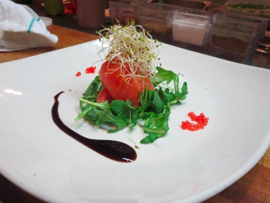 Le Saint-Jacques: Smoked Salmon Timbale