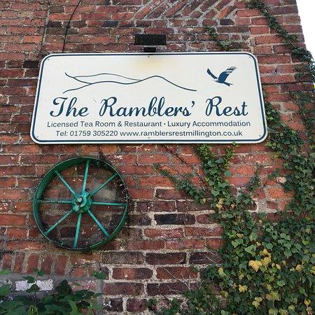 Millington, UK: The Ramblers' Rest
