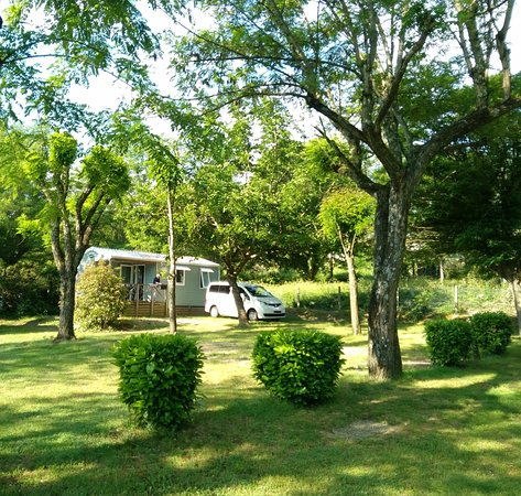 Sampzon, فرنسا: mobil home Ohara 4 personnes
