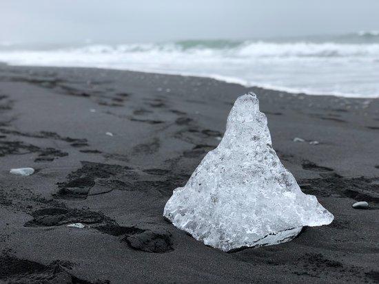 Local Travel South Iceland: Diamond on the Beach