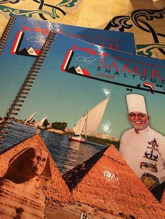 Chef Samir Restaurant and Catering: Menu