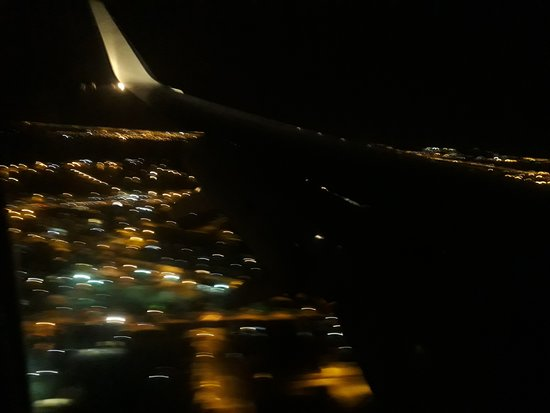 American Airlines: Vista de mi bello GYE, listo para aterrizar