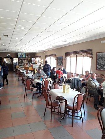 Honrubia, España: Gastraum