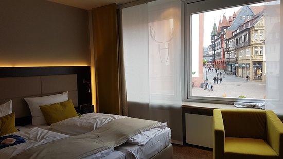 Hotel Platzhirsch: Zimmer mit Blick
