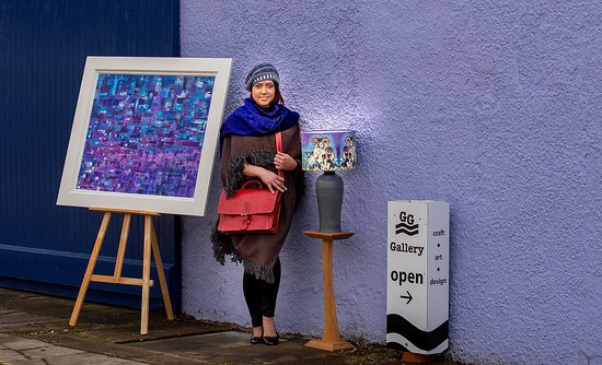 Art, textiles, furniture, homewares and accessories at Golspie Gallery