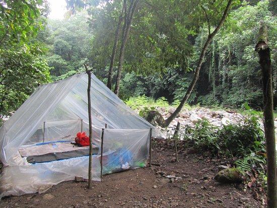 Kutacane, Indonesien: Our sleepingplace, slept like a baby :)
