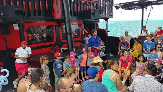 Grand Oasis Palm: Pirate ship boat ride
