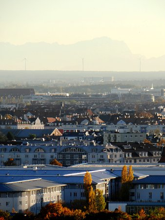 Olympiapark: Весь город как на ладони