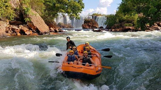Jalapao 4X4 Turismo E Aventura: O rafting é um dos esportes radicais preferidos praticados no  Jalapão, vale muito apena.