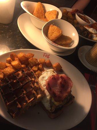 Frankie & Benny's Eldon Square: Breakfast