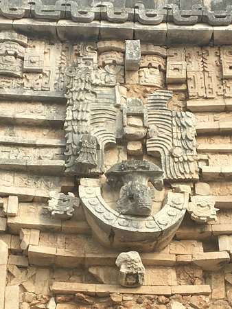 Uxmal, Mexico: More detailed stonework