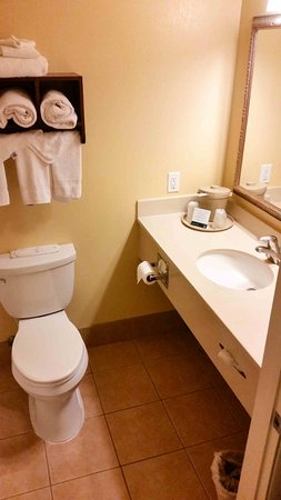 Quality Inn & Suites Montclair: Badezimmer