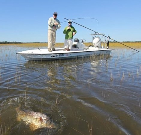 Isle of Palms, Güney Carolina: Inshore Fishing boat trip and boat charter