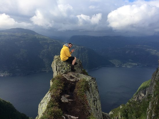 Hjelmeland Municipality, Norwegia: on the top!