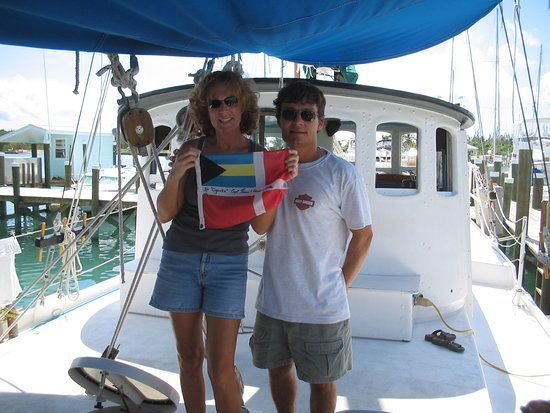"""Sailing Adventures: Welcome to our """"home"""" in the Bahamas"""