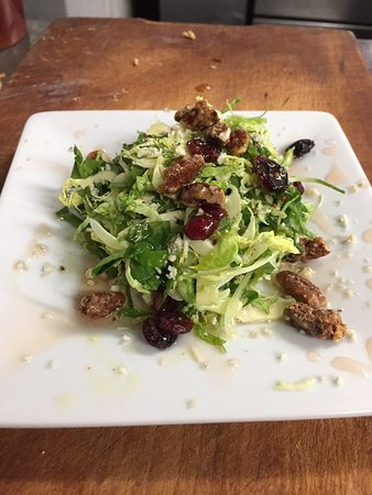 Franklin, NY: Shredded Brussels Sprout Salad