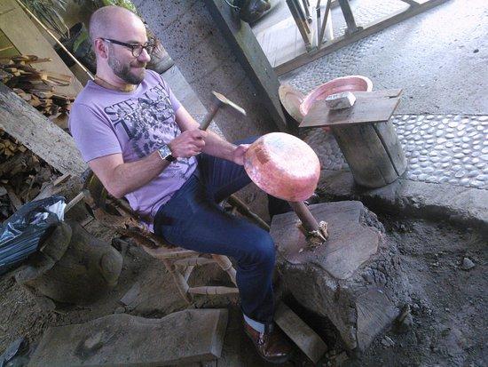 Patzcuaro, Mexico: Try the hammer
