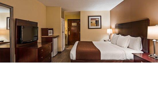 Creedmoor, Северная Каролина: King Room Guestroom View