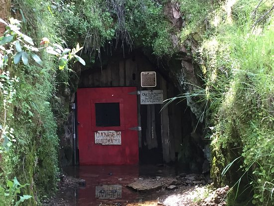 San Andreas, Californien: Entrance to the historic mine