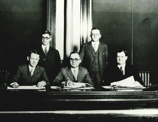 Independence, MO: County Court with Harry S Truman as Presiding Judge.