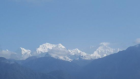 Summit Newa Regency: View of Kanchanjunga