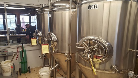 Rome, NY: Brewing vessels are producing the suds