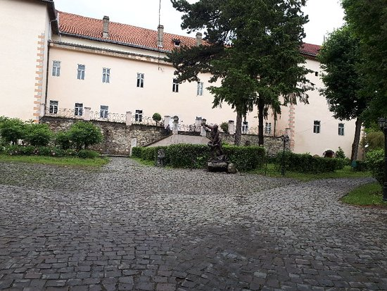 Uzhhorod Castle. Transcarpathian Regional History Museum Resmi
