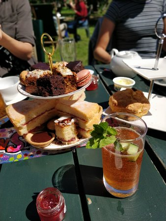 Grantchester, UK: Delicious food