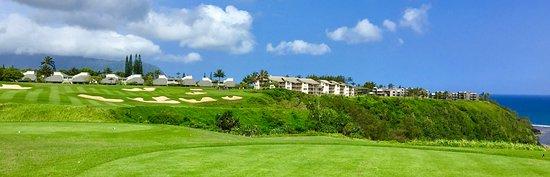 Princeville Makai Golf Club: Wonderful short par four that is drivable.
