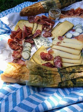 City Insiders Paris: Versailles Grand Canal picnic spread.