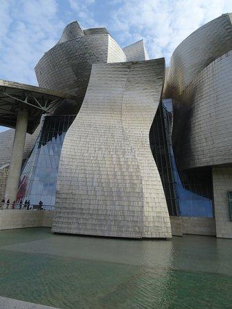 Μουσείο Guggenheim Μπιλμπάο: Platinum exterior