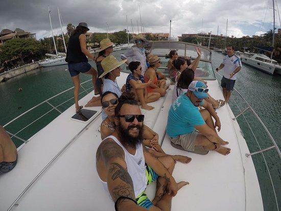 Compas SUP Club: Compas SUP team party on a rent yacht