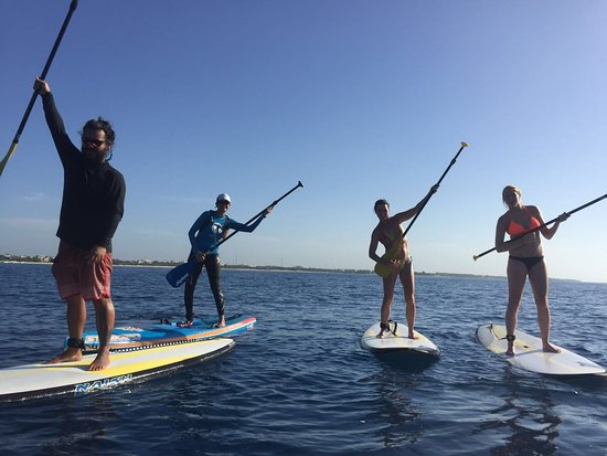Compas SUP Club: Just having fun on our paddle boards