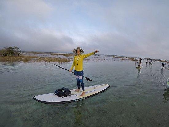 Compas SUP Club: Explore the Bacalar Channels