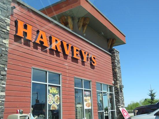 Harvey's: logo