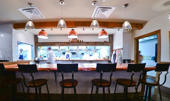 Leawood, KS: The chef's counter at rye