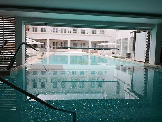 Alentejo Marmoris Hotel & Spa : Piscina interior e exterior