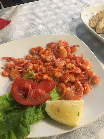 Nimmos Traditional Restaurant: Symi shrimp