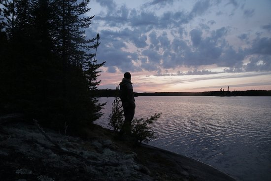 Red Lake, Kanada: Sunsets in WCPP are magic