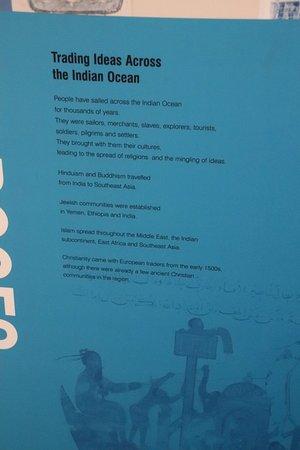 Western Australian Maritime Museum: Trading ideas across to the Indian ocean