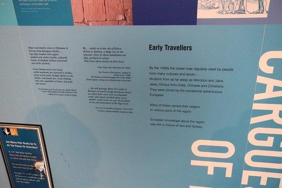 Western Australian Maritime Museum: Early travellers