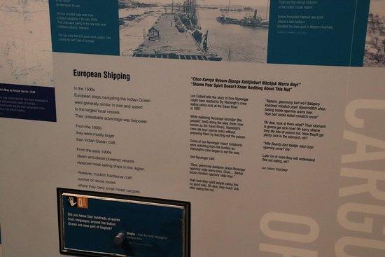 Western Australian Maritime Museum: European shipping