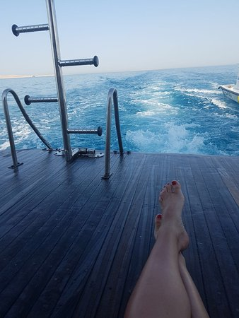 Shehab Boat Diving Center: wonderful View