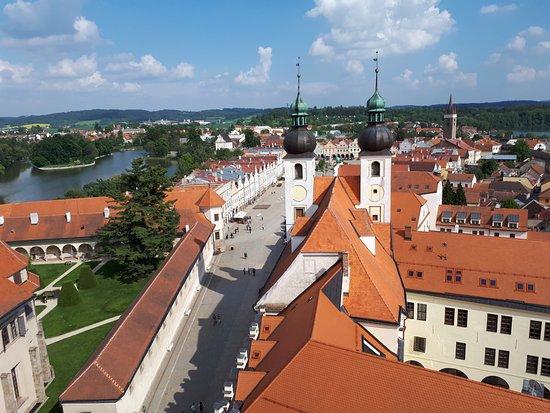Historic Centre of Telc: Pohled z věže